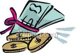 Money bundles clipart.