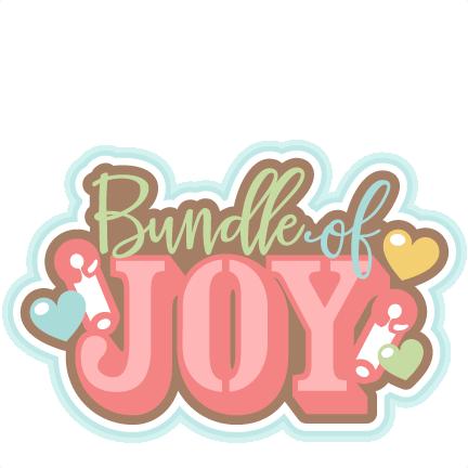 Bundle of joy clipart.