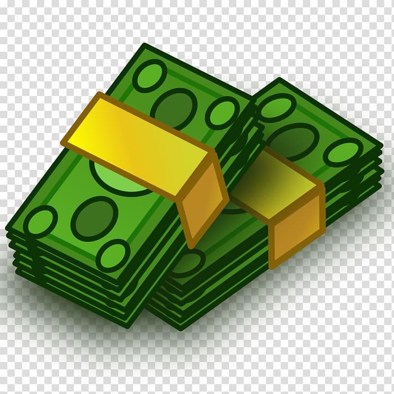 Two bundle of banknotes illustration, Money , Money.
