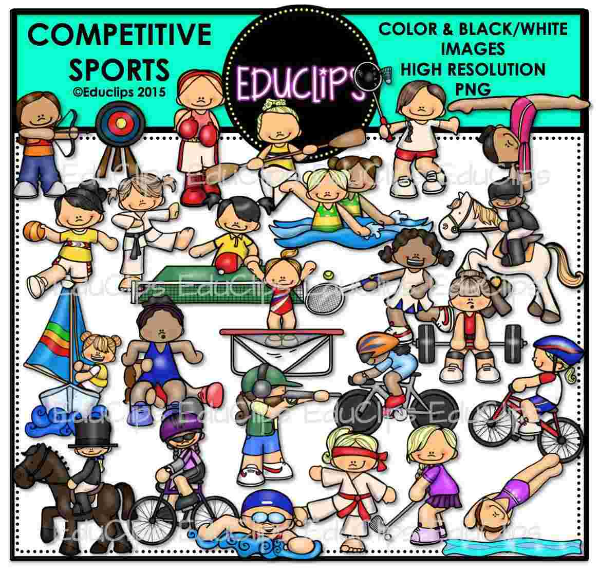Best Cliparts: Clipart Of Competition Sports Competitive.