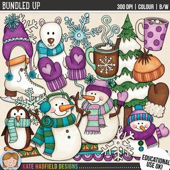 Winter Clip Art 2: \
