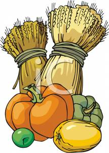 Wheat Bundles Clip Art Grains.