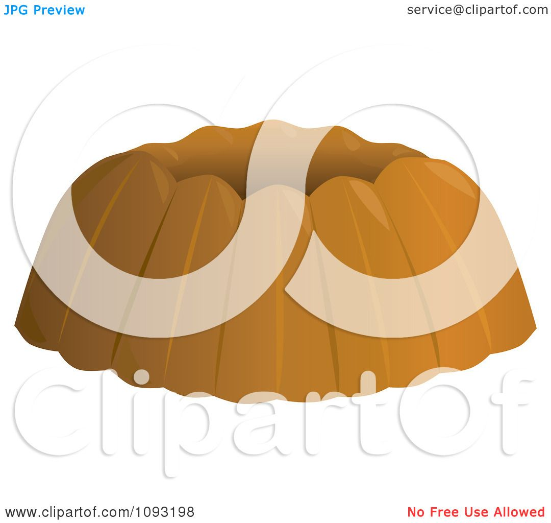 Clipart Plain Bundt Cake.
