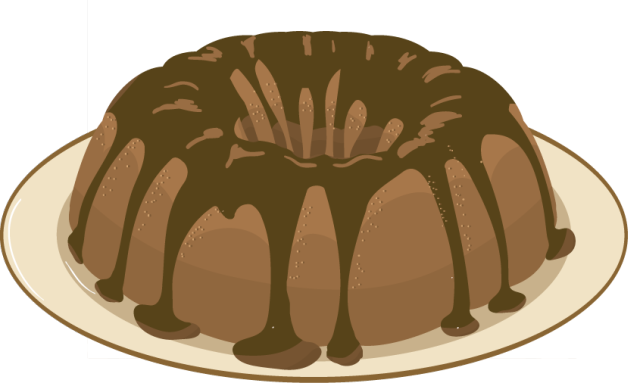 Bundt Cake Clipart.