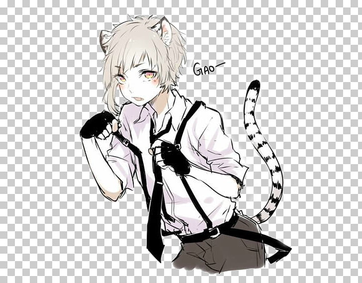 Bungo Stray Dogs Art Anime Male, Dog PNG clipart.