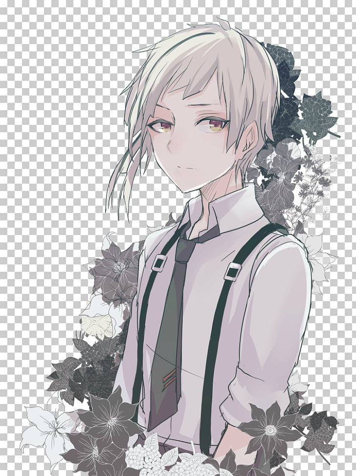 Bungo Stray Dogs Anime Art, Anime PNG clipart.
