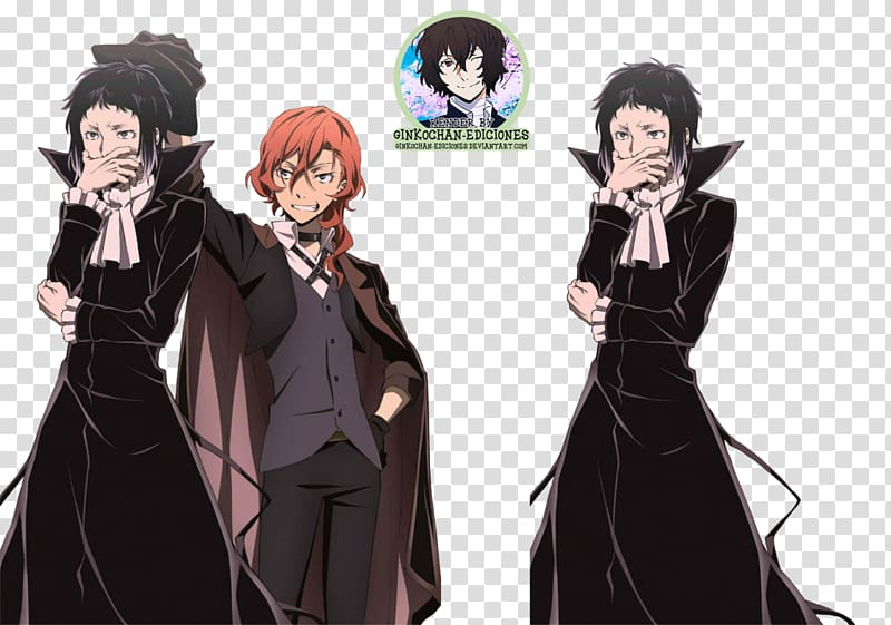 Bungo Stray Dogs Anime Art, Anime transparent background PNG.