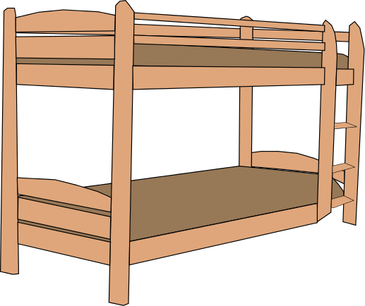 Free Bunk Bed Clip Art.