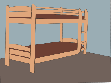 Free Bunk Bed Clipart, 1 page of Public Domain Clip Art.