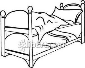 Set of Bunk Beds.