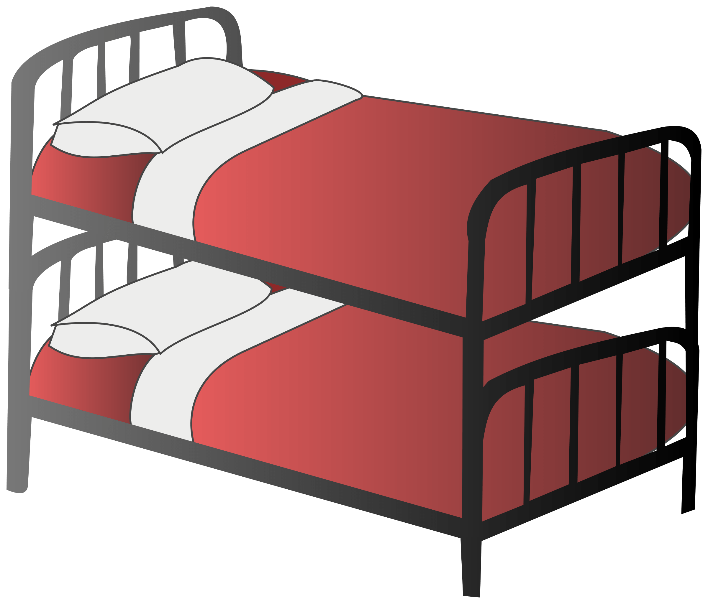 Bunk Bed transparent PNG.