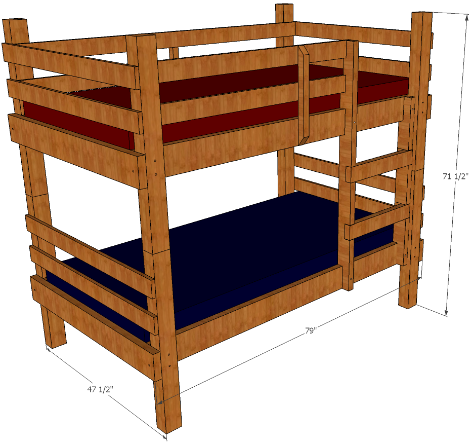 Bunk Bed Plans.