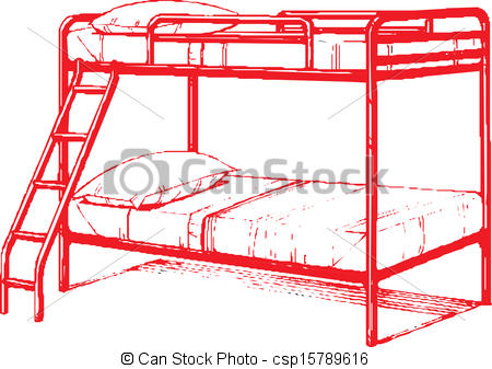 Bunk bed Clip Art and Stock Illustrations. 182 Bunk bed EPS.
