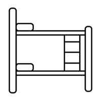 Bunk Bed Bed Beds Frame Frames Ladder Ladders Furniture Furnitures.