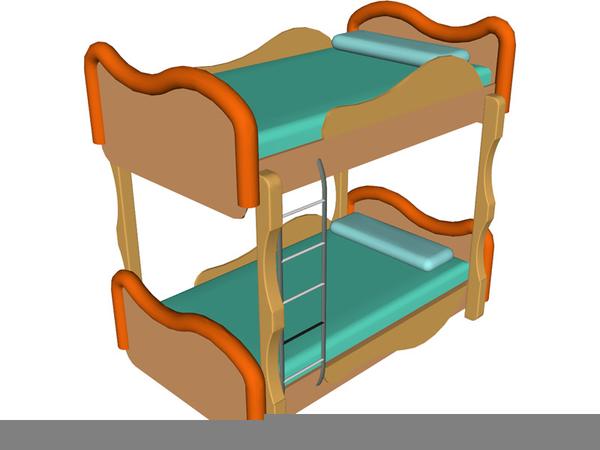 Bunk Beds Clipart.