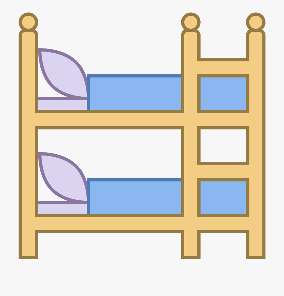 Clipart Bed Bunk Bed.