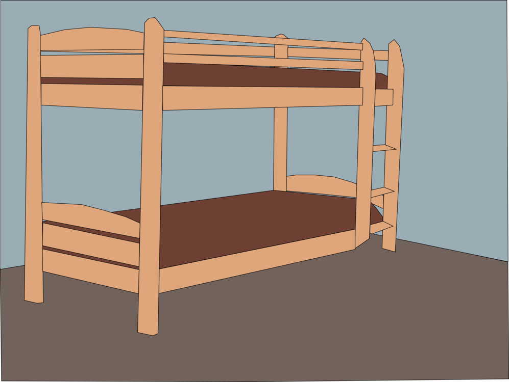 Bunk bed clipart 3 » Clipart Station.
