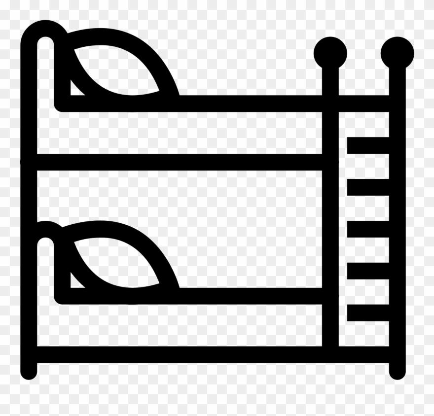 Bedroom Clipart Bunk Bed.