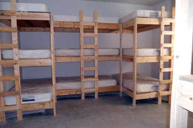 Group Bunkhouse Economical Lodging for Groups in Ocoee Tennessee.