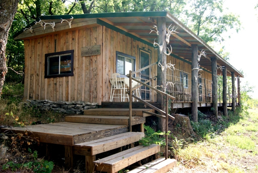 Working Ranch Vacations, Guest Ranch Bunkhouse.