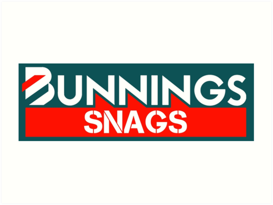 'Bunnings Snags' Art Print by BasedKiwi.