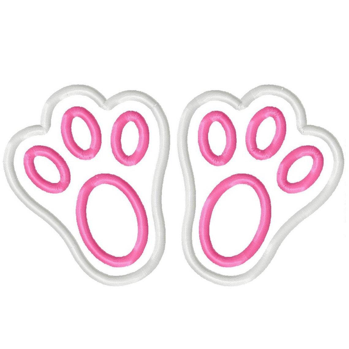 Bunny Feet Silhouette.
