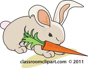 Similiar Bunny With Carrot Clip Art Keywords.