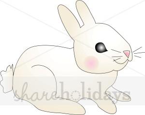 Baby Rabbit Clipart.