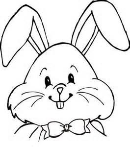 Rabbit Clipart Face.