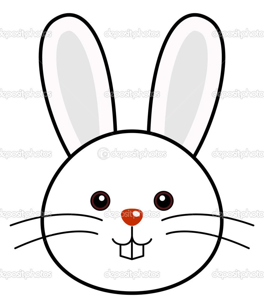 Bunny head clipart 2 » Clipart Station.