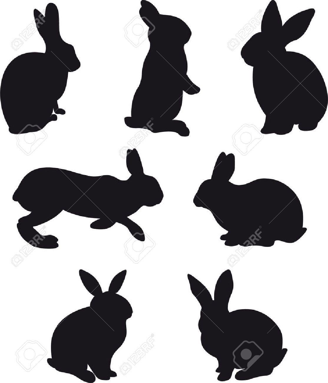bunny head clipart.