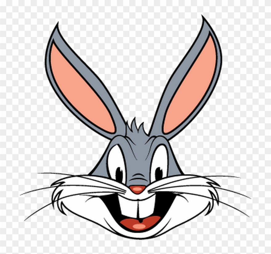 Bugs Bunny Cartoon Clip Art.