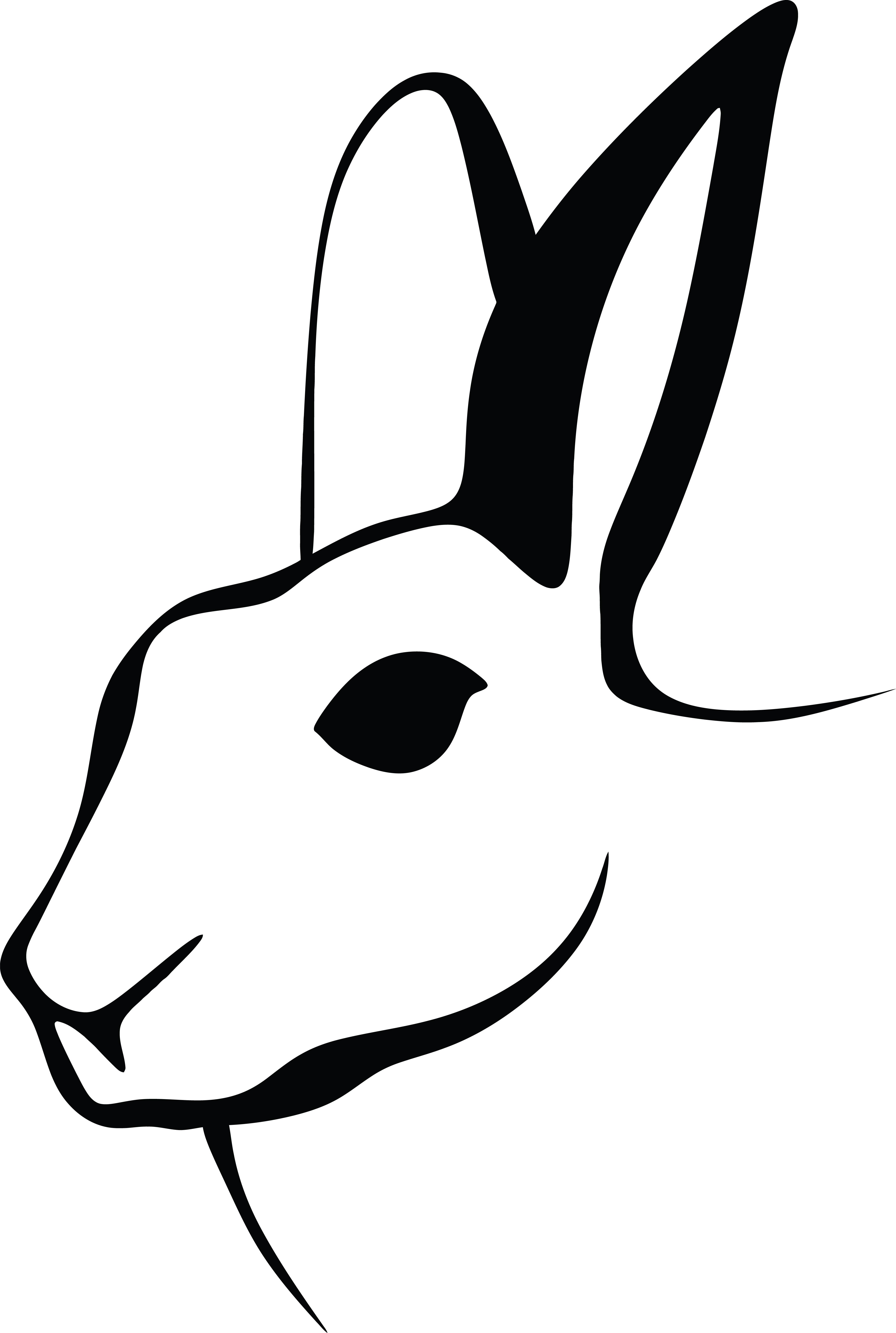 Rabbit Head Clipart.
