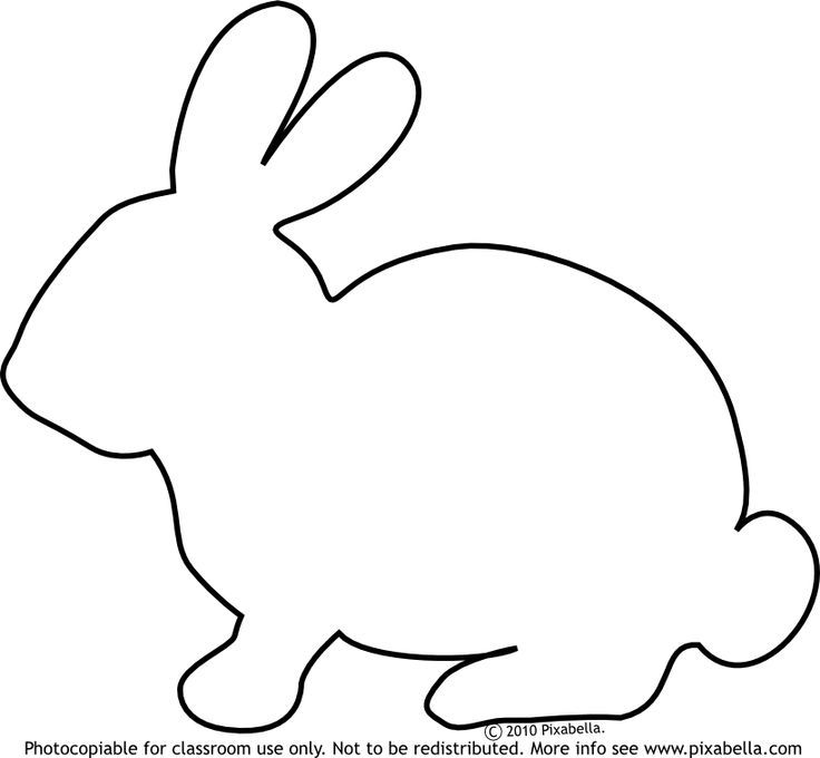 Rabbit Clipart Easy.