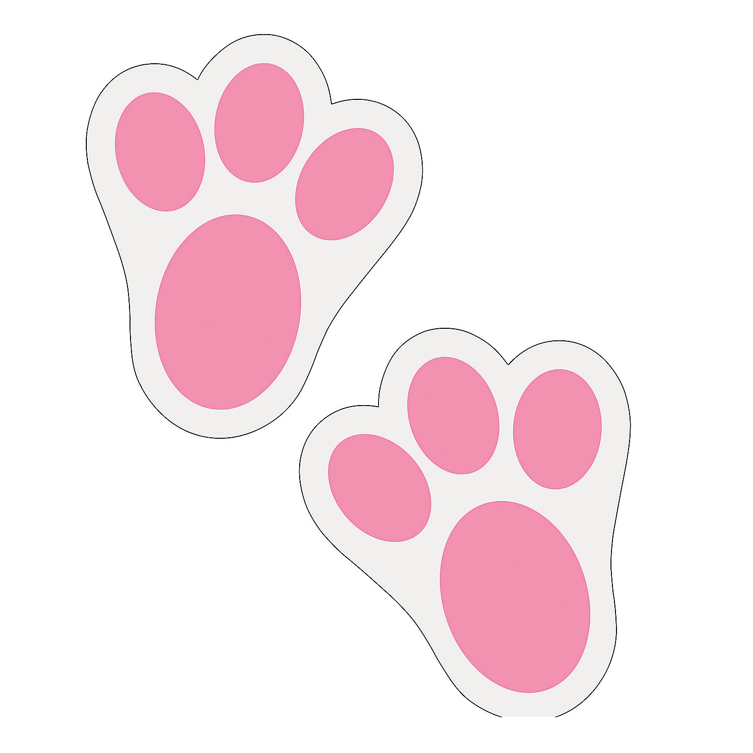 Free Bunny Footprints Cliparts, Download Free Clip Art, Free.