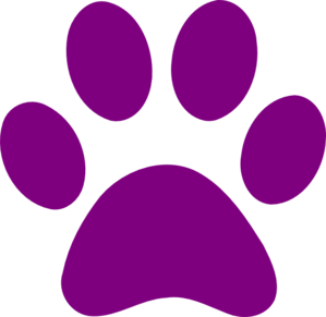 Paw Print Clip Art at Clker.com.