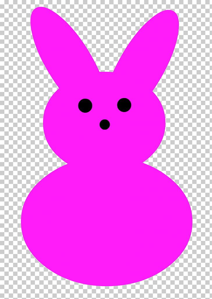 Rabbit Easter Bunny Peeps, peep PNG clipart.