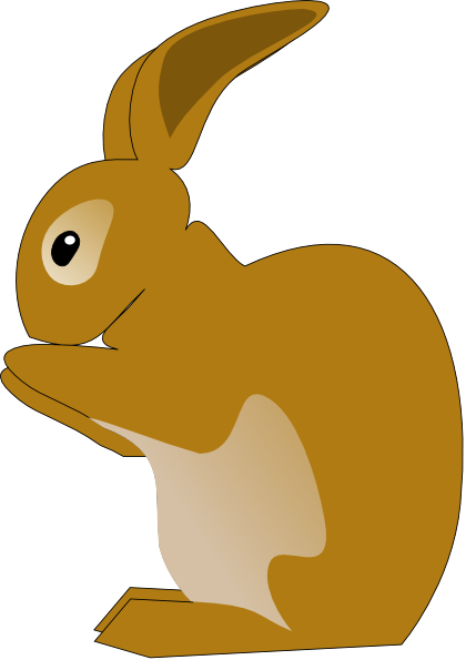 Bunny Rabbit Clip Art.