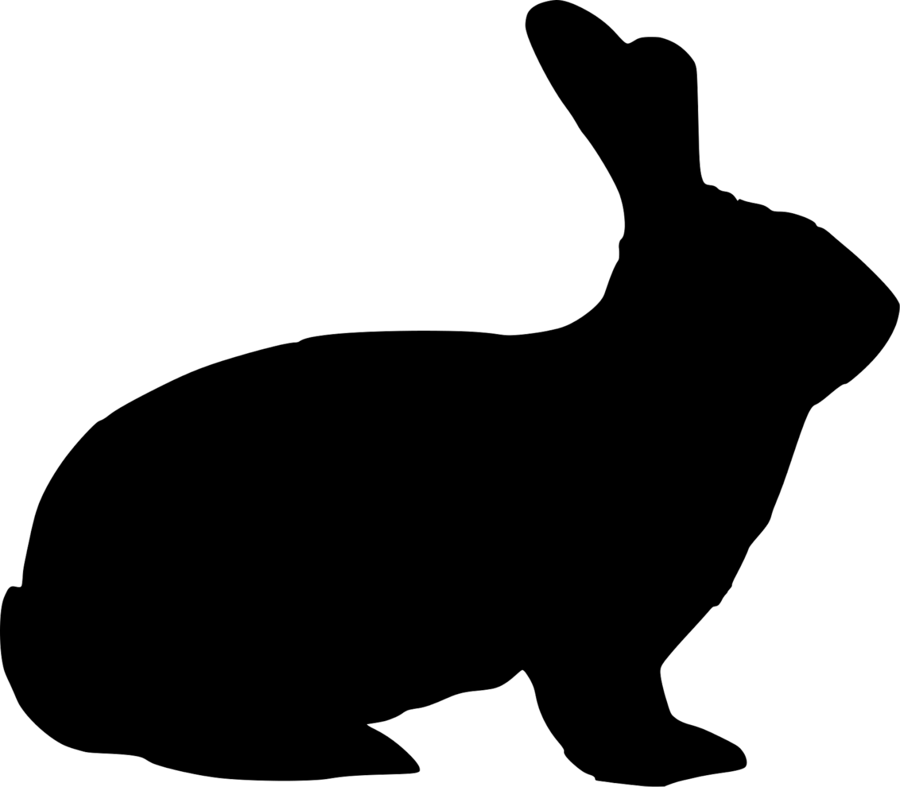 Easter Bunny Background clipart.