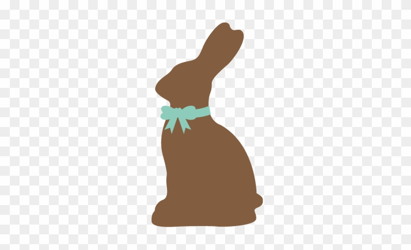 Silhouette Clipart Easter Bunny.