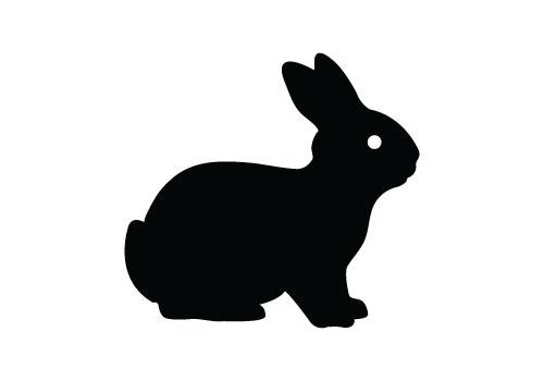Bunny Silhouette Clip Art at GetDrawings.com.