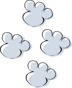 Free Bunny Footprints Cliparts, Download Free Clip Art, Free Clip.