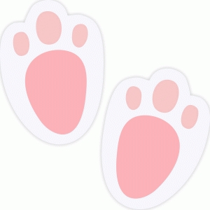 Bunnies clipart paw, Bunnies paw Transparent FREE for.