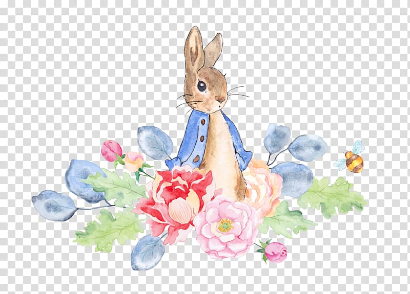 The Tale of Peter Rabbit Watercolor painting , Rabbit and.
