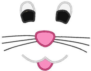 Clipart bunny nose, Clipart bunny nose Transparent FREE for.