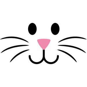 Bunny Nose Clipart.