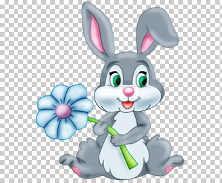 Easter Bunny Angel Bunny Rabbit , Easter PNG clipart.