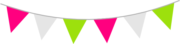 Colour Bunting Clip Art at Clker.com.
