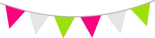 Colour Bunting Clip Art at Clker.com.