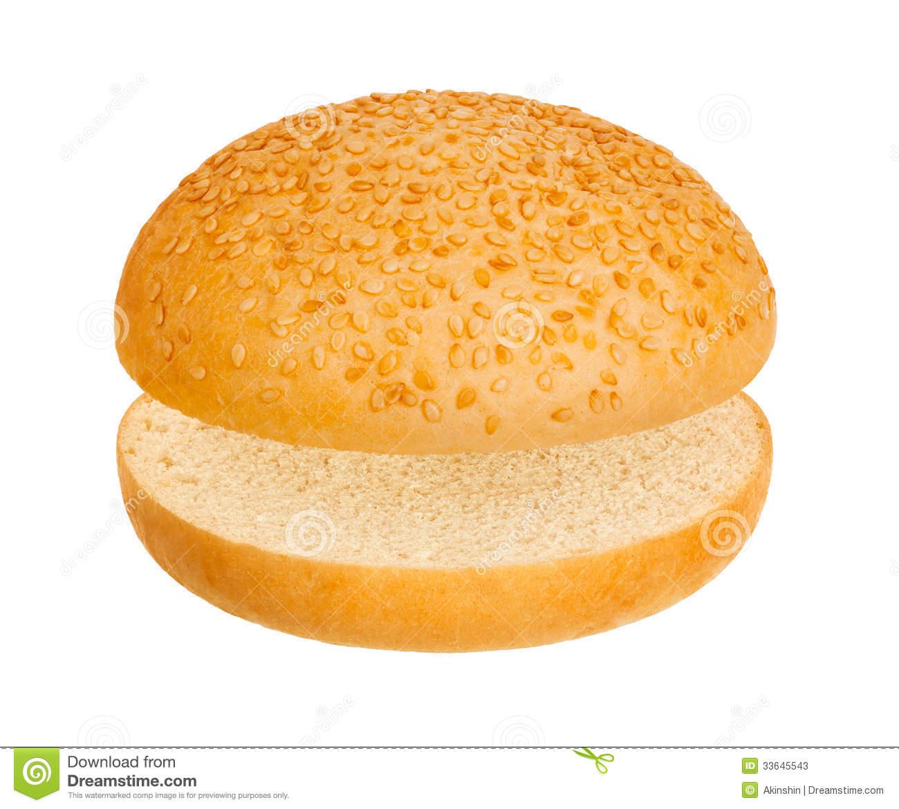 Hamburger bun clip art free.